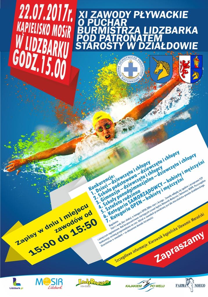 plakat-zawody-pływackie-1