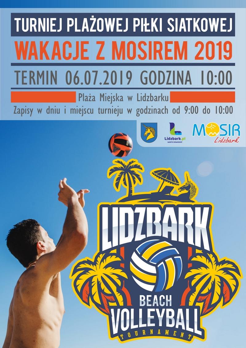 plakat turniej siatkówki 2019-12